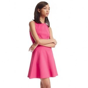 TED BAKER | Pink 'Mitton' Scuba Sleeveless Dress